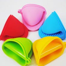 Free shipping hot selling five colors silicone rubber Silicon clamping gloves microwave oven protecting heat resistant