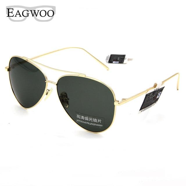06635cb8637 Polarized Sunglasses Men Outdoors Pilot Sun Glasses Anti UV Anti Glare De  Sol Masculino Fashion Lenses Metal Slim Temple 861017