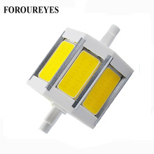 The Lowest Price R7S LED Bulb 78mm 118mm Flood Light dimmable ac85-265v COB LED Sportlight replace 40W 50W halogen Lamp