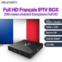 4K Movie X96 Android 6 0 Smart TV Box S905X IPTV 1 Year SUBTV Subscription PK