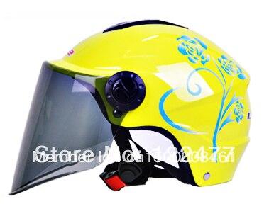LS2-OF108.authentic electric vehicle motorcycle helmet, half helmet open face helmet,15 colors
