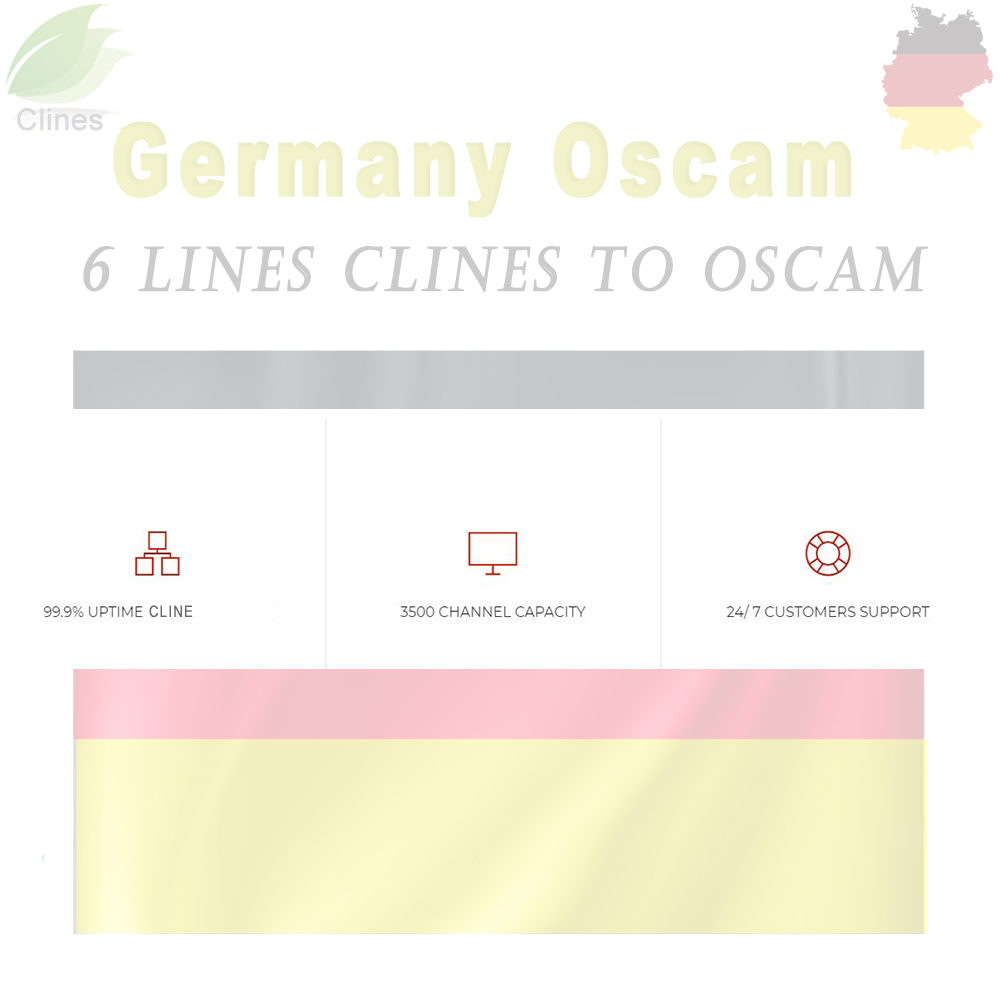 oscam germany cline stable lines for 1 year europe clines