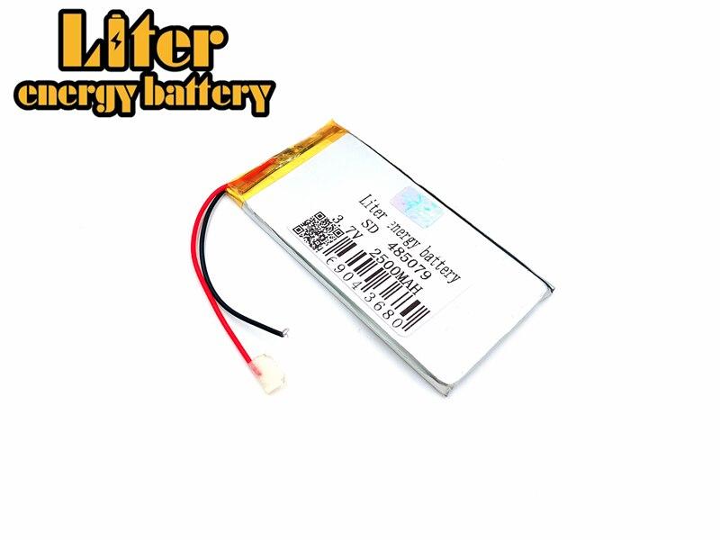 Größe 485079 505080 3,7 V 2500 Mah Lithium-polymer-batterie Mit Bord Für Mp3 Mp4 Gps Digitale Produkte Kostenloser Versand Neue Sorten Werden Nacheinander Vorgestellt Unterhaltungselektronik