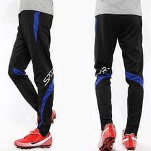 Спортивные тренировочные штаны для детей, профессиональные штаны для бега, футбола, мужские тренировочные штаны для футбола, спортивные Леггинсы для бега на молнии, детские штаны для фитнеса