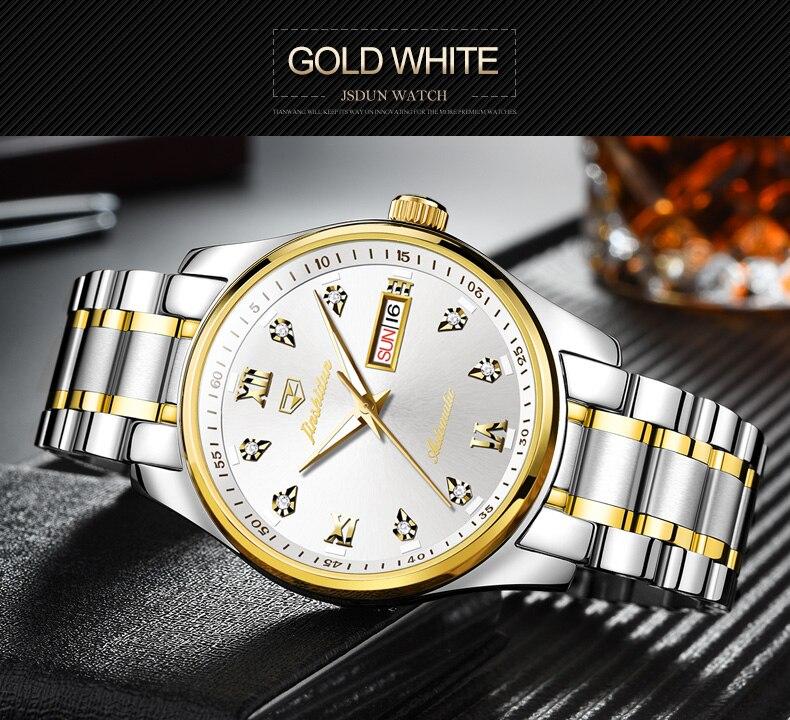 Alta Qualidade Casais de Luxo Relógio Mecânico