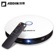 AODIAN M18 Mini Proyector DLP HD 3D HDMI proyector de Bolsillo 1080 P 4 K LED proyector de cine en casa Android 5G WIFI portátil proyector