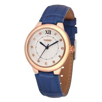 Reloj Mujer Luxury TIME100 Women's Quartz Watch Leather Strap Roman Number Waterproof Ladies Wrist Watches Relogio Feminino