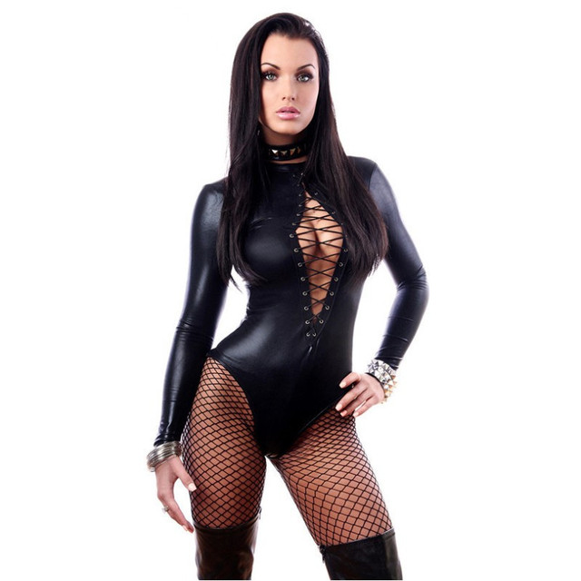 Porn Sex Underwear Women Erotic Lingerie Sexy Leather Latex Baby Doll Sexy Lingerie Hot Pole Dance Club Sexy Babydoll Costumes 3