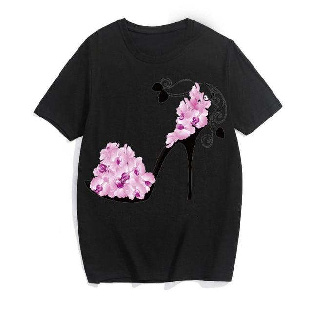 Summer T Shirt Women Floral...