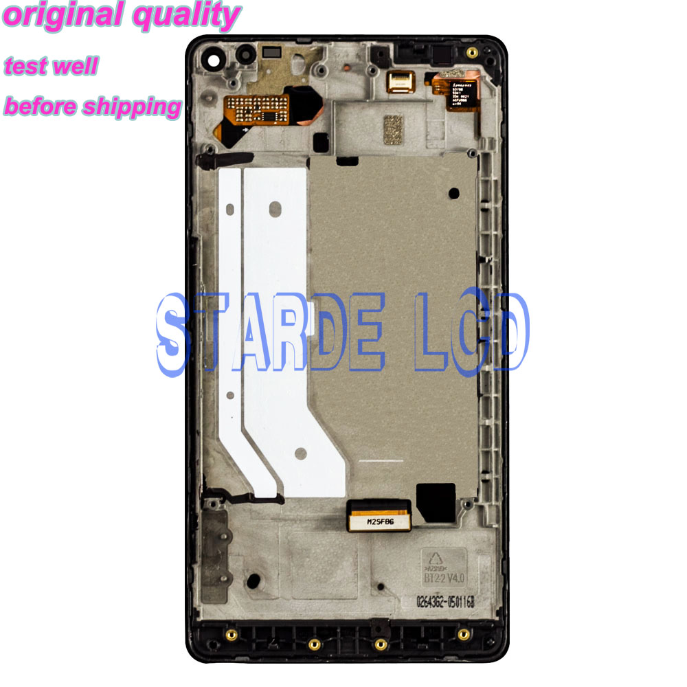 STARDE Replacement LCD For Nokia Lumia 950XL LCD Display Touch Screen Digitizer Assembly Frame 950 XL RM1116 in Mobile Phone LCD Screens from Cellphones Telecommunications