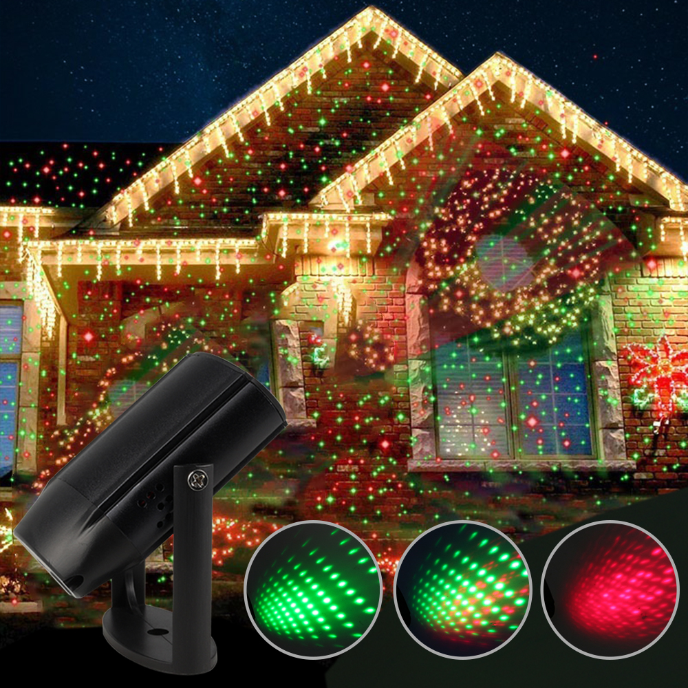 ZINUO USB Moving Full Sky Star Laser Projector Home Party Mini Shower Lamp Blue&Green LED Stage Light Christmas Laser Lamp