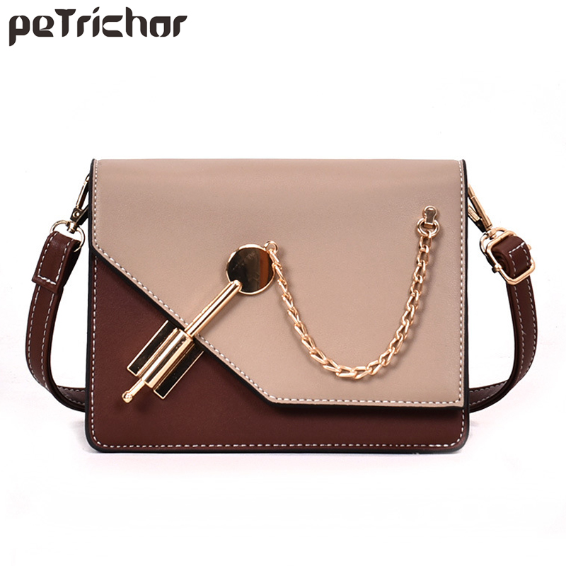 Petrichor New Fashion Mini PU Leather Women Crossbody Bag Ladies Long Strap Shoulder  Messenger Bags Small Handbag Female Purses 7c1a3594512c7