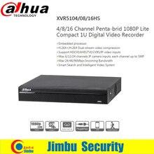 Dahua XVR video recorder XVR5104HS 08HS 16HS 4ch/8ch/16ch 1080P Support HDCVI/ AHD/TVI/CVBS/IP video inputs 1 SATA HDD