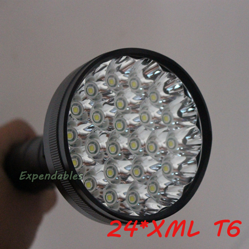 24*XML T6 LED 30000 lumen 18650 26650 exploration torch light flashlight tactical lantern,self defense,camping light, lamp sitemap 32 xml page 6