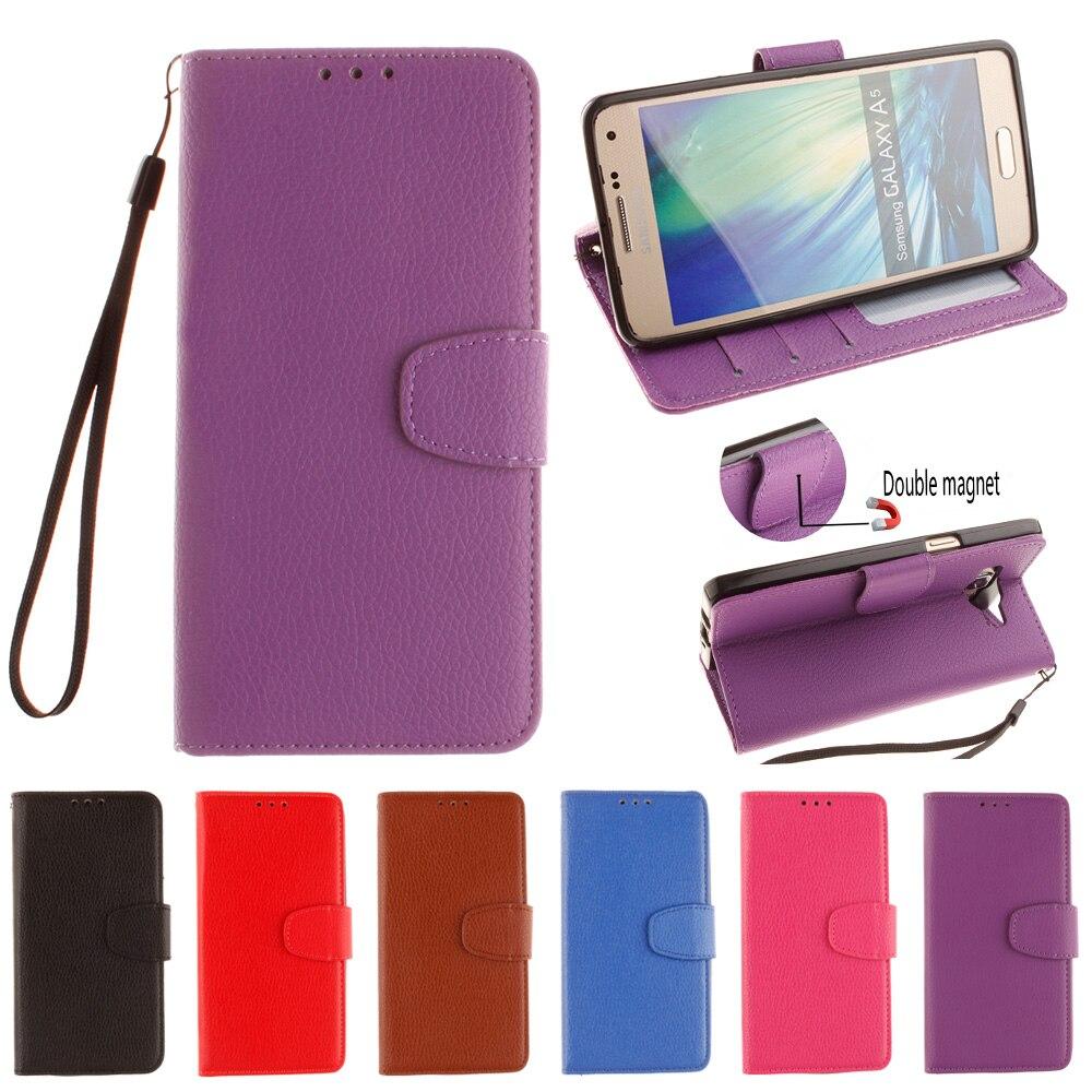 Flip Case for Samsung Galaxy A5 2015 A 5 500 A500 A500FU SM A500FU Case Phone