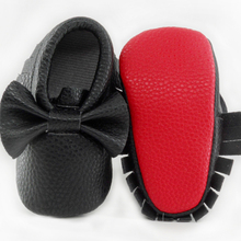 Обувь для новорожденных, которые делают первые шаги; для мальчиков и девочек; мягкие туфли, детские мокасины кожаная бахрома PU детская Новогодняя обувь для колыбельки