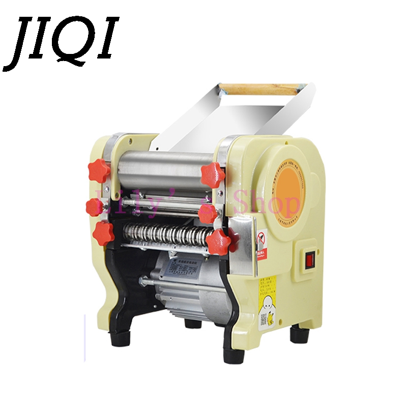 Electric noodles making pressing machine pasta maker noodle cutting machine dough roller commercial and home use 3 mm 9mm EU US automatic pasta machine household pasta machines electric noodle pressure machine noodle maker