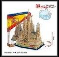 Образовательные игрушки 1 шт. CubicFun испания Sagrada Familia 3D бумага DIY известная модель монтаж строительство комплекты мальчик игрушка в подарок