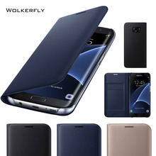 Original Flip Leather Phone Case for Samsung