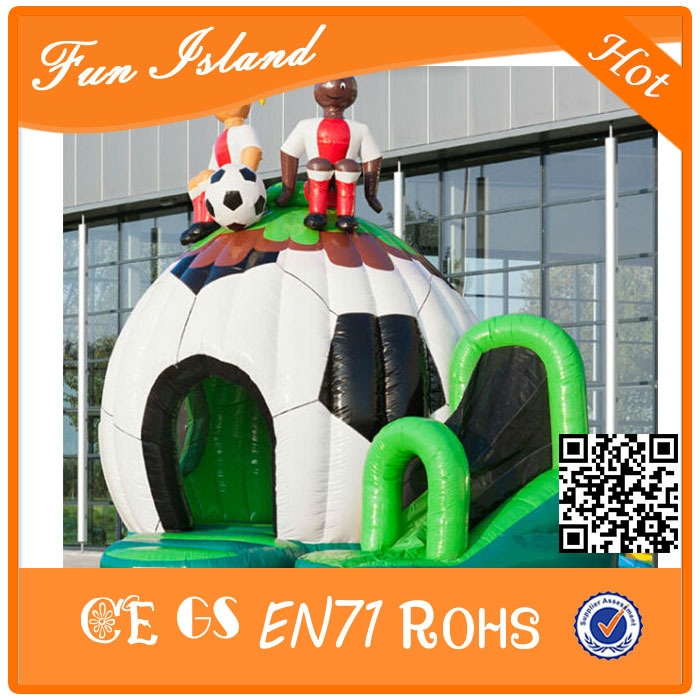 New design inflatable font b bouncer b font castle slide factory Inflatable font b Bouncer b