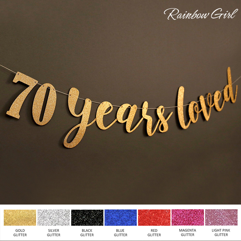 Popular 70th decorations buy cheap 70th decorations lots for Decoration 70th birthday
