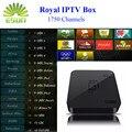 Mejor IPTV Árabe GOTiT S905 4 K Cuadro de TV Android con IPTV 1950 + Europa real Africano Francés Rusia Turquía Kurdos Persa tv de pago