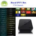 Melhor Árabe IPTV GOTiT S905 4 K Android TV Box com Royal Curda da Turquia IPTV 1950 + Europa Africano Francês Russo Persa tv por assinatura