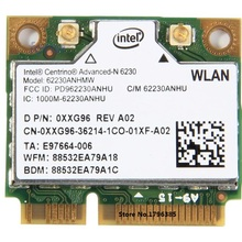 SSEA новая Wifi Bluetooth 3,0 Беспроводная карта для Intel 6230 6230AN 62230 ANHMW карта 300 Мбит/с 802,11 a/b/g/n Половина Mini PCI-E 2,4G/5 ГГц