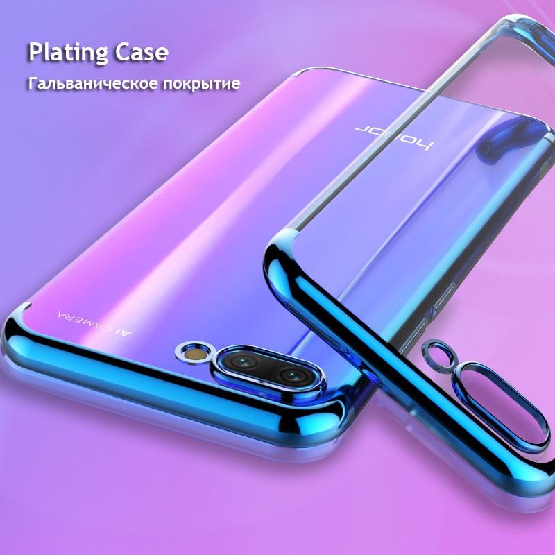 чехлы чехол на Huawei Honor 10 20 lite 9 lite 20 Pro корпус прозрачный покрытие Мягкие TPU чехол для телефона Хуавей Хонор 10 20 9 Лайт про