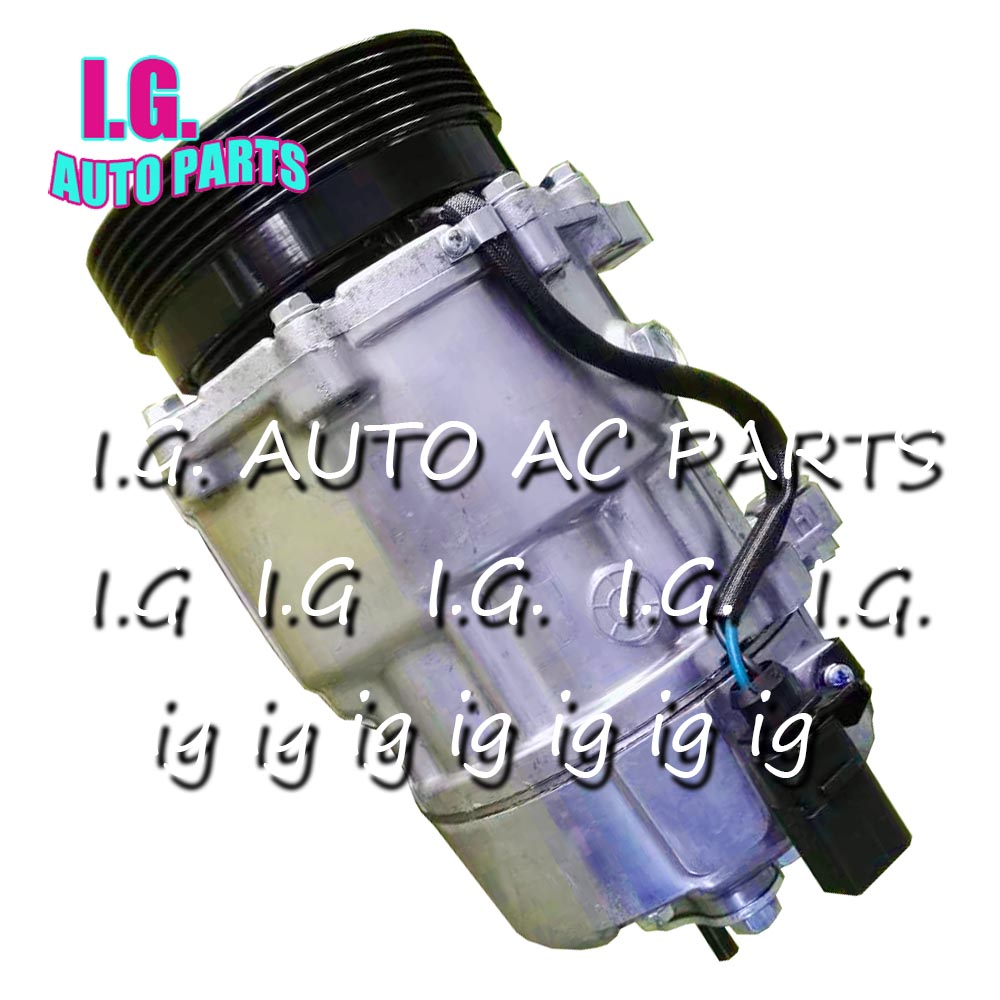 Car AC Compressor Fits For Audi TT Quatro For Volkswagen Jetta Golf Beetle Seat Models 1J0820803B 1521907 4717003 4717025