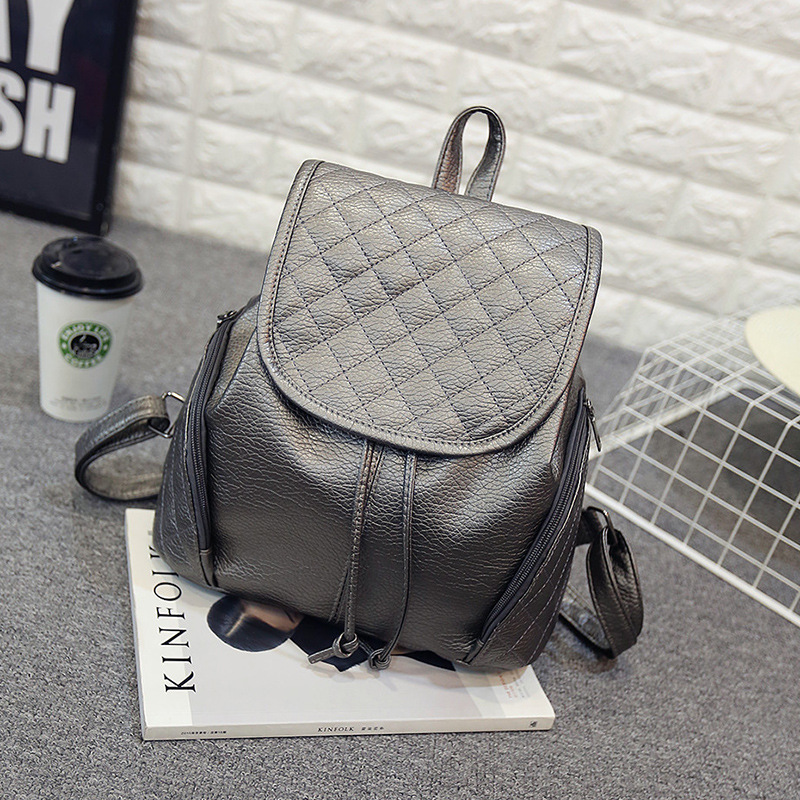 Aliexpress.com : Buy longmiao Women Backpack Ling Plaid Trendy ...