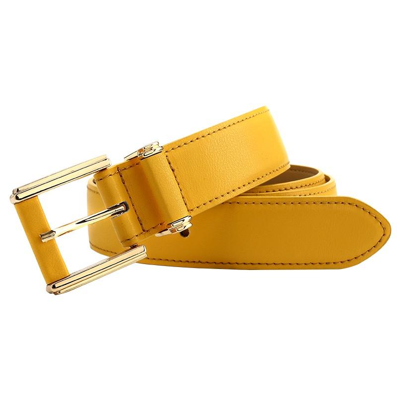 CASTELLES Formal Belts For Women 6 colors Designer Fashion Female Belt Woman High Quality Genuine Leather Cinturones Mujer (11)