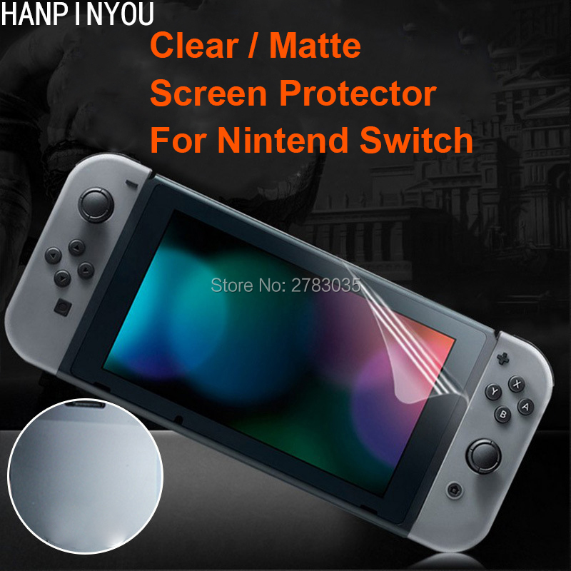 For Nintend Switch Nintendo NS NX Clear Glossy / Anti-Glare Matte Screen Protector Protective Film Guard (Not Tempered Glass)