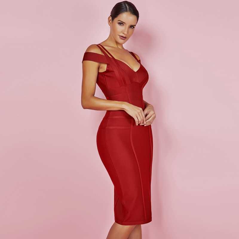 5dbfbaafe75 ... Ocstrade Новый Для женщин Bodycon платье 2019 летние пикантные кофта с  открытыми плечами пикантные высокое качество ...