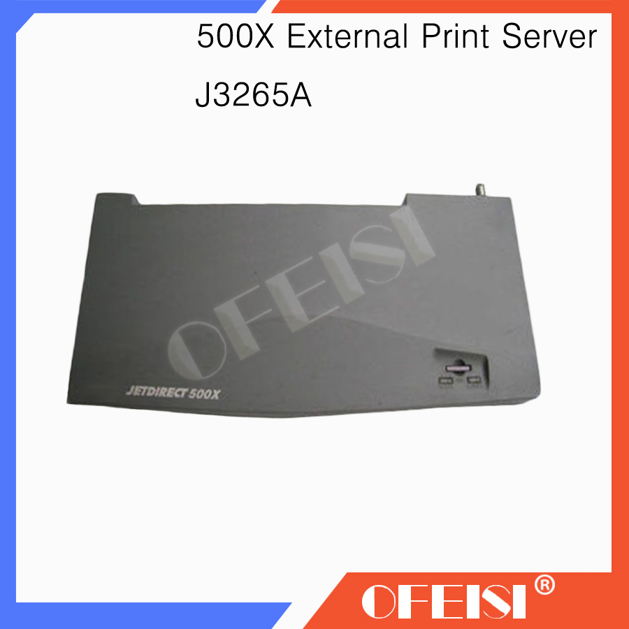 90% New Original J3265A JetDirect Card External Print Server- No AC Adapter For HP500X HP 500X Series network card printer parts