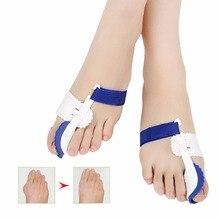 1 Pair Toe Straightener Bunion Adjustable Orthotics Hallux Valgus Corrector Foot Care Pedicure Tool Bone Thumb Toes Separator