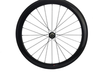 Carbon Bike Wheel 50mm Clincher 700C Road Hub Powerway R36 Straight Pull Front/Rear Single Wheel Only 24/38/60/88mm