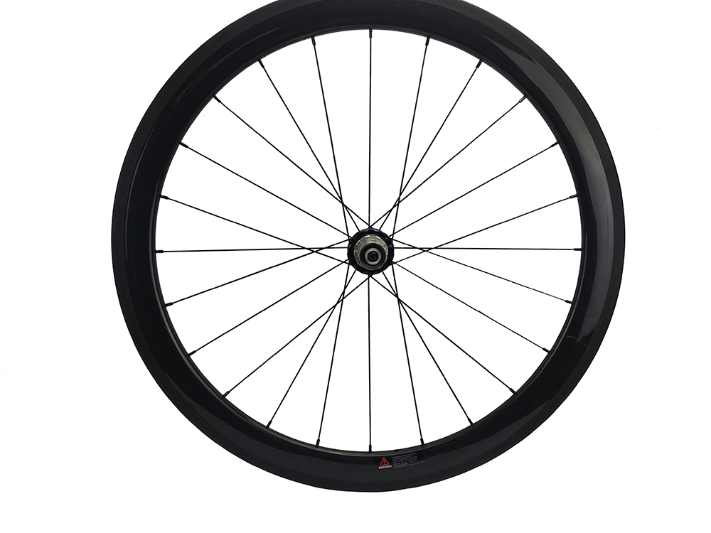 Carbon Bike Wheel 50mm Clincher 700C Road Hub Powerway R36 Straight Pull Front/Rear Single Wheel Only 24/38/60/88mm carbon road wheel ceramic bike hub 700c 88mm clincher racing wheel wholesale carbon road racing wheel