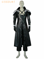 Final fantasy vii 7 sephiroth deluxe uniform cosplay costume, idealne Klienta Dla Ciebie!