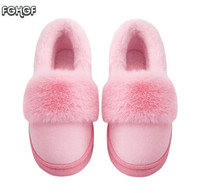 Winter Slippers Women House Home Slippers Woman Warm Cute Plush Fur Slippers Winter Home Shoes Women