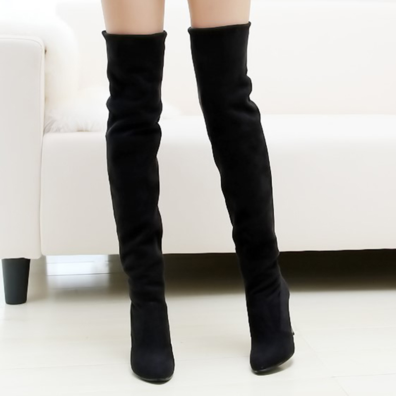 Popular Over Knee High Heel Boots-Buy Cheap Over Knee High Heel ...