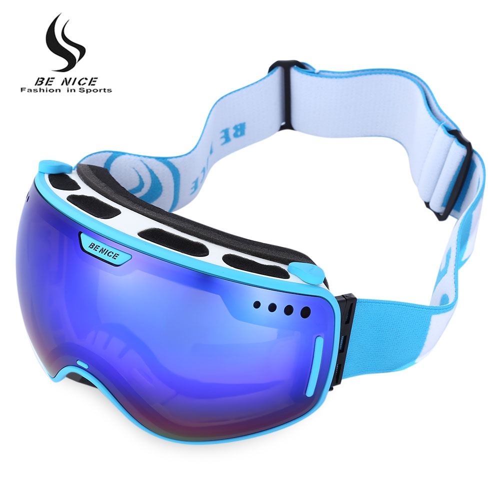 99f4a5739d0 BENICE UV Protection Double Anti-fog Lens Big Spherical Skiing Glasses Snow  Goggles