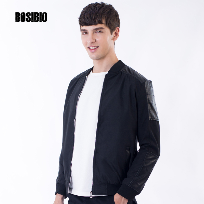 2017 New Spring Autumn Mens Jackets Thin Solid Fashion Short Coats Male Casual Slim Stand Collar Bomber Jacket Men Overcoat 4xl Spare No Cost At Any Cost Men's Clothing Jackets