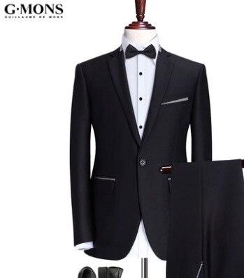 Sposa di Vestiti Giacche Qualità Nero Alta Uomini Sposo di Da XiwOPkTZu