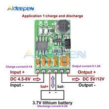 DC 5V 12V descargador de DC Converter Boost módulo UPS Diy Li-Ion LiPo batería de litio