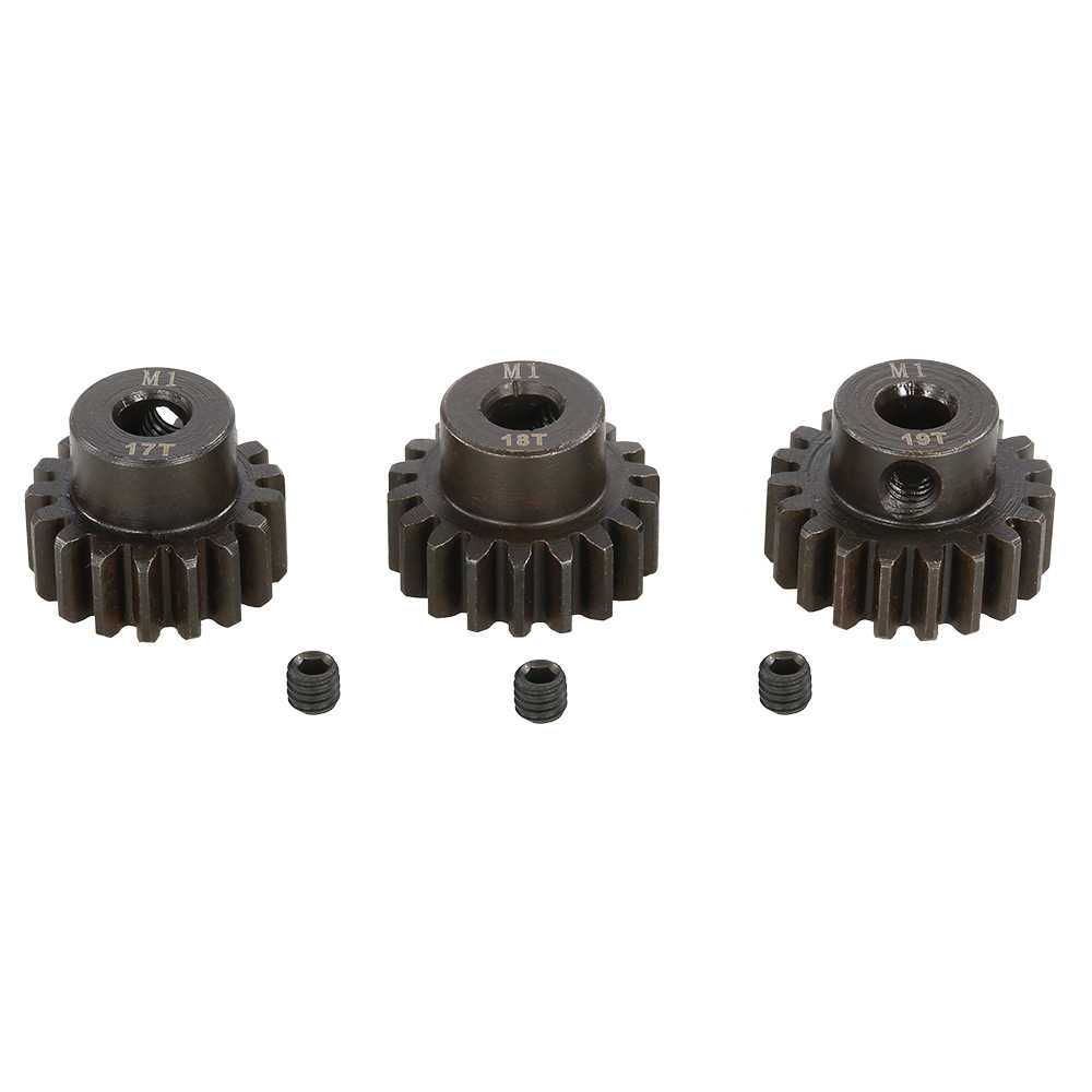 1:8 RC Auto Deel M1 11 T 12 T 13 T 14 T 15 T 16 T 17 T 18 T 19 T 20 T 21 T 22 T Metalen Pinion Motor Gear Combo Kit RC Auto 1/8 Buggy Truck