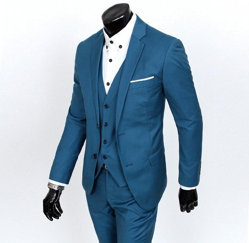 2018 ny ankomst terno masculino Business casual kostymer män - Herrkläder - Foto 2