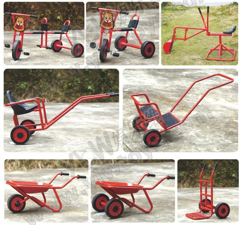 school bicycle children three wheel scooter kids steel pedicab bike Innrech Market.com