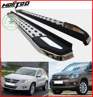 Newest running boards side step foot nerf bar for Volkswagen TIGUAN 2008-2016,fasion&luxury style,special price promotion 7days