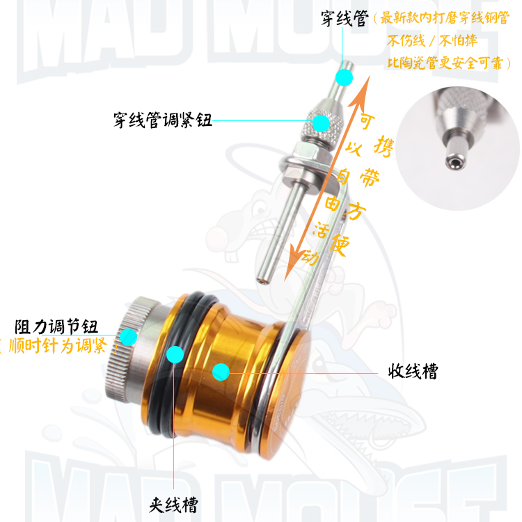 US $21 56 31% OFF|Aliexpress com : Buy FREE SHIPPING MADMOUSE KNOT ASSIST  KNOTTING MACHINE GT KNOT MACHINE FISHING TOOL FISHING TACKLE from Reliable